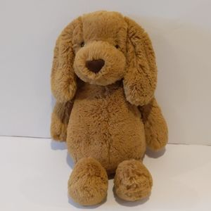 "Jellycat bashful puppy dog 12"" toffee"